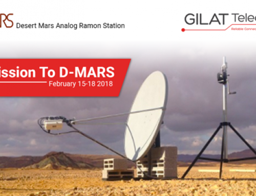 Gilat Telecom Connects Astronauts Living in Mars-Like Conditions On Earth