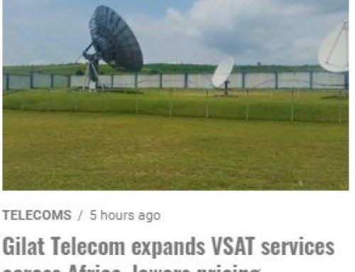 Gilat Telecom Expands VSAT Services Across Africa